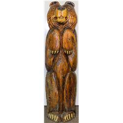 5 Foot Bear Sculpture