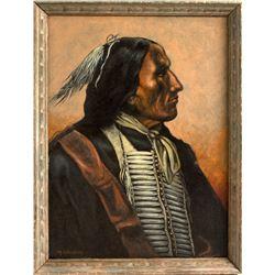 M. Weakley Blackbird, Sioux Chief