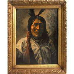 M. Weakley Native American Painting