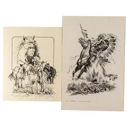 Two Native American Prints