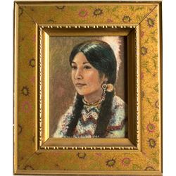 Indian Girl by Mary Chadwell
