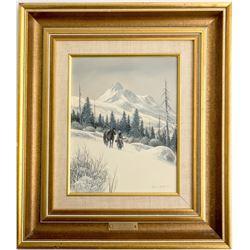 Winter Hunter by Gene Speck