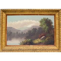 Landscape Painting by Alfred Augustus Glendening