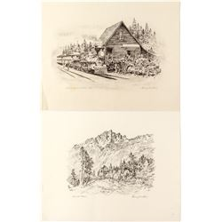 Two George Mathis Prints