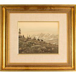 Barren Hills by Gene Speck