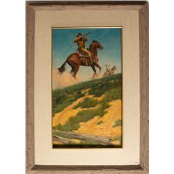 A Texas Ranger by Ken Laager
