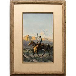 Wyoming Sundown by Ken Laager