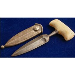 Bone Handled Dagger