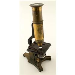 James W. Queen & Co. Microscope
