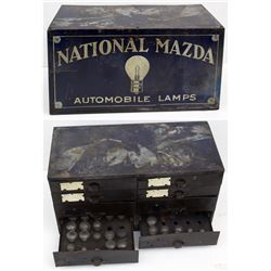 National Mazda Automobile Lamps Cabinet