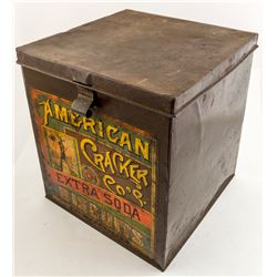 American Cracker Co. Vintage Tin