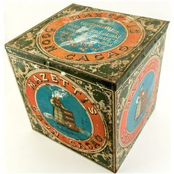 Mazettis Cacao Vintage Tin Box