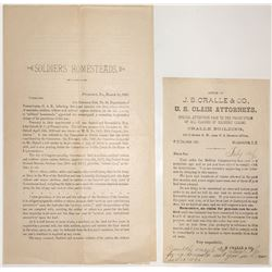 Civil War Handbills