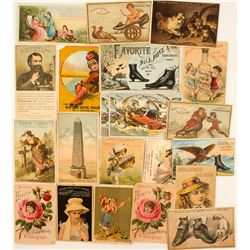 Pictorial Advertising Cards