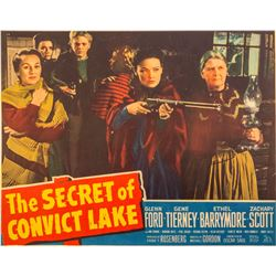"""The Secret of Convict Lake"" Movie Poster"