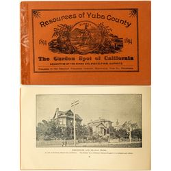 "Rare ""Resources of Yuba County"" Booklet"