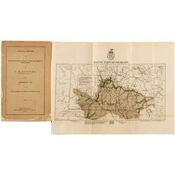 Annual Report upon Explorations and Surveys in the Department of The Missouri (Colorado) w/ map