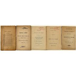 Early Colorado Political Speeches/Booklets (5)