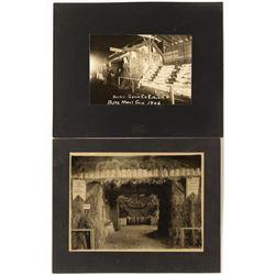 Two 1906 Butte Fair Exhibit Photographs
