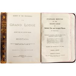 Two Grand Lodge Booklets