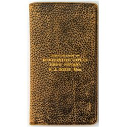 Riverside Hotel Wallet (Reno, Nevada)