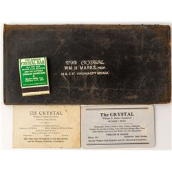 """The Crystal"" Large Wallet, Virginia City, NV"