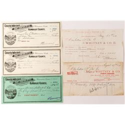 Nevada Ephemera Group: Billheads and Warrants