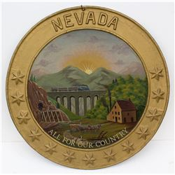 State of Nevada Seal Painting
