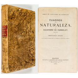 Humboldt: Cuadros De La Naturaleza