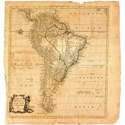Early South American Map
