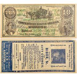 Washington DC Advertising Note