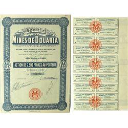 Tunisian Stock Certificate