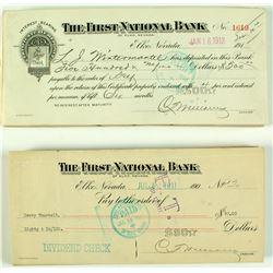 First National Bank Checks
