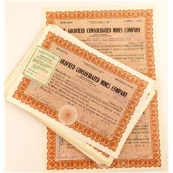 Goldfield Consolidated Mines Company Stock Certificates 5