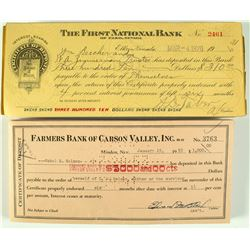 Old Nevada Checks