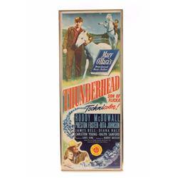 1945 Thunderhead Framed Movie Poster