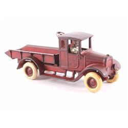 Arcade International Red Baby Dump Truck c.1920