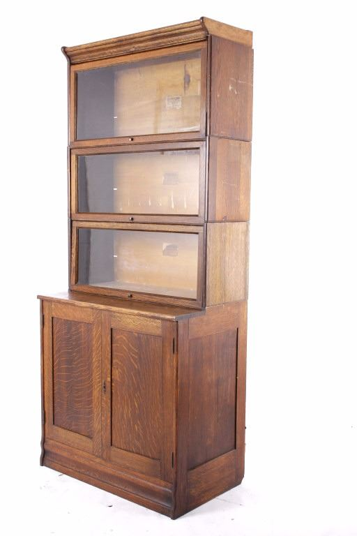 Early Lundstrom Barrister W Lower Cabinet