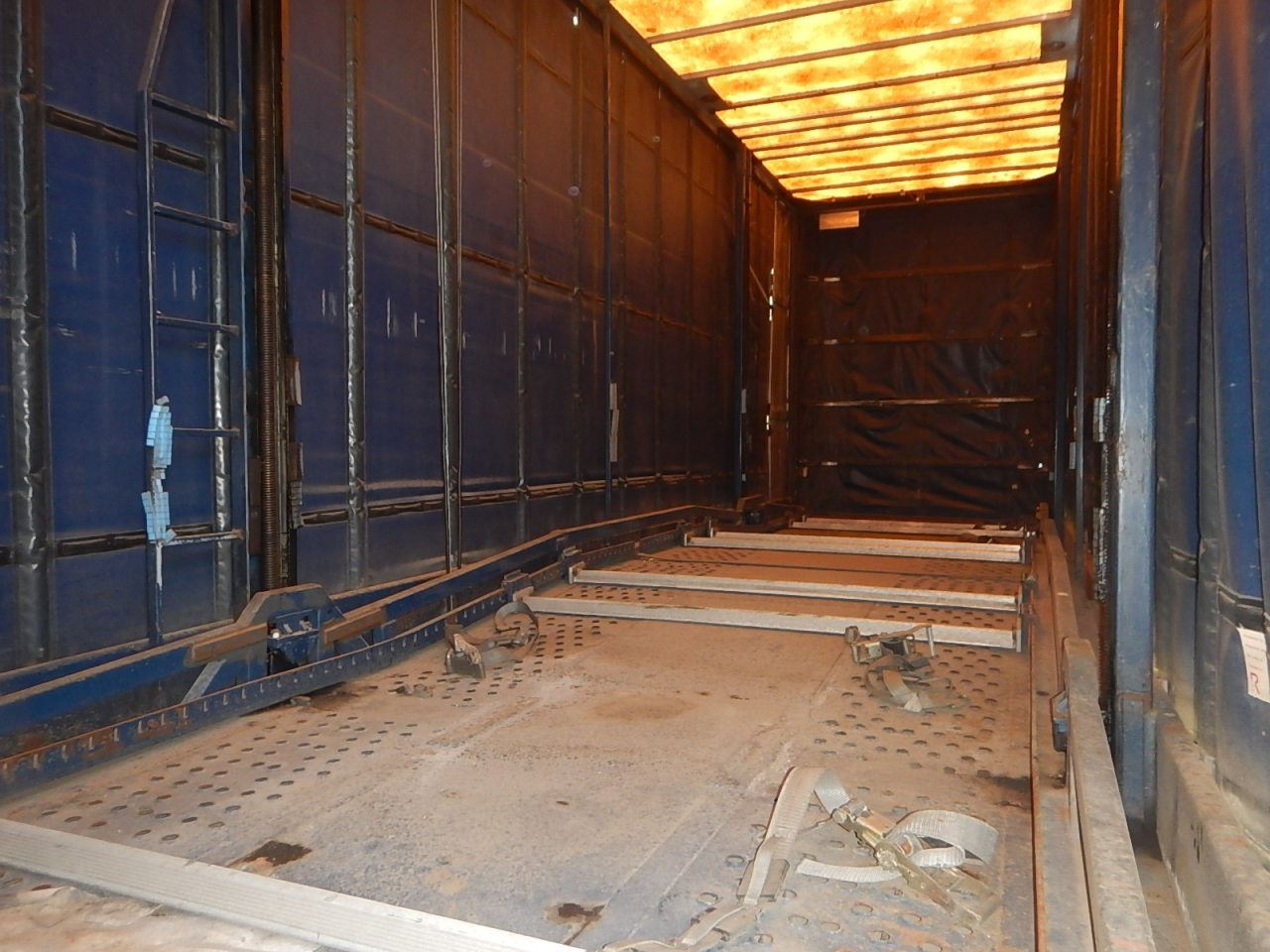 1996 FREIGHTLINER TRAC CAR CARRIER TRUCK VIN/SN:1FVXBSEB1TL860110 CAB OVER,  T/A, DETROIT DIESEL ENGI