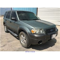2006 - FORD ESCAPE // TEXAS REG ONLY