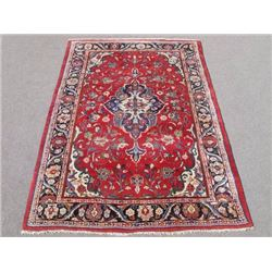 Simply Beautiful Semi Antique Persian Mahal Rug 7x11
