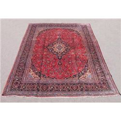 Very Collectible Semi Antique Persian Kashan Rug