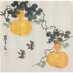 Cui Zifan 1915-2011 Chinese Watercolour on Paper
