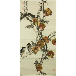 Huang Jinquan b.1940 Chinese Watercolour on Paper