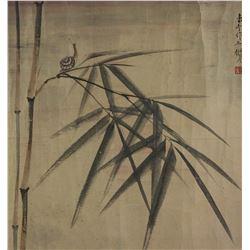 Chen Shuren 1884-1948 Watercolour on Paper Roll