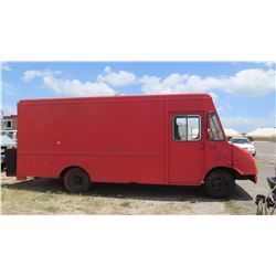 """92 Chevy, 171.5""""L, 80.5""""W, 89""""H, Has Title. Freezer, Fridge, Soup Burner, Noodle Boiler"""