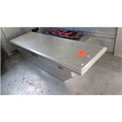 Aluminum Truck Box/Tool Box - Diamond Tread Plate Aluminum