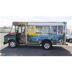 """81 Chevy Van - Wrapped in Hawaii Theme, 155.5""""L, 76.5""""W, 74""""H - Has Title, Plate Expired 2016"""