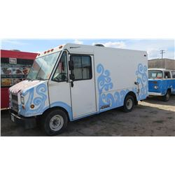 """2006 Ford Van - White w/Octopus, 135""""L, 77""""W, 73""""H, Hass Title, Reg Expired Nov. 2016"""