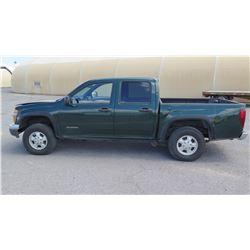 2005 Chevrolet Colorado LS Pick-Up Truck, Has Title, Registration Expires Feb. 2018